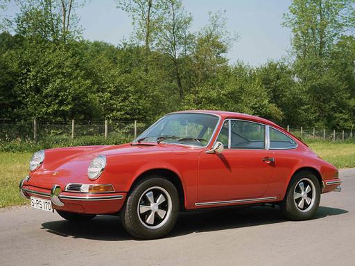 1968-69 Porsche 911T coupe