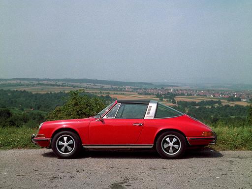 1970-71 Porsche 911T targa