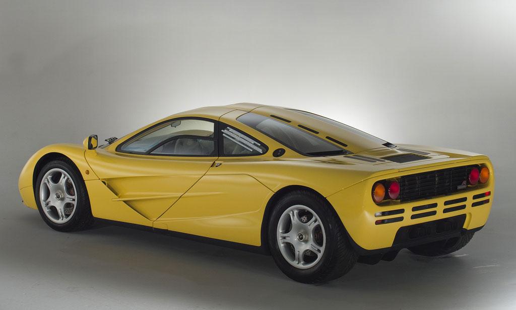 1997 McLaren F1 rear 3/4