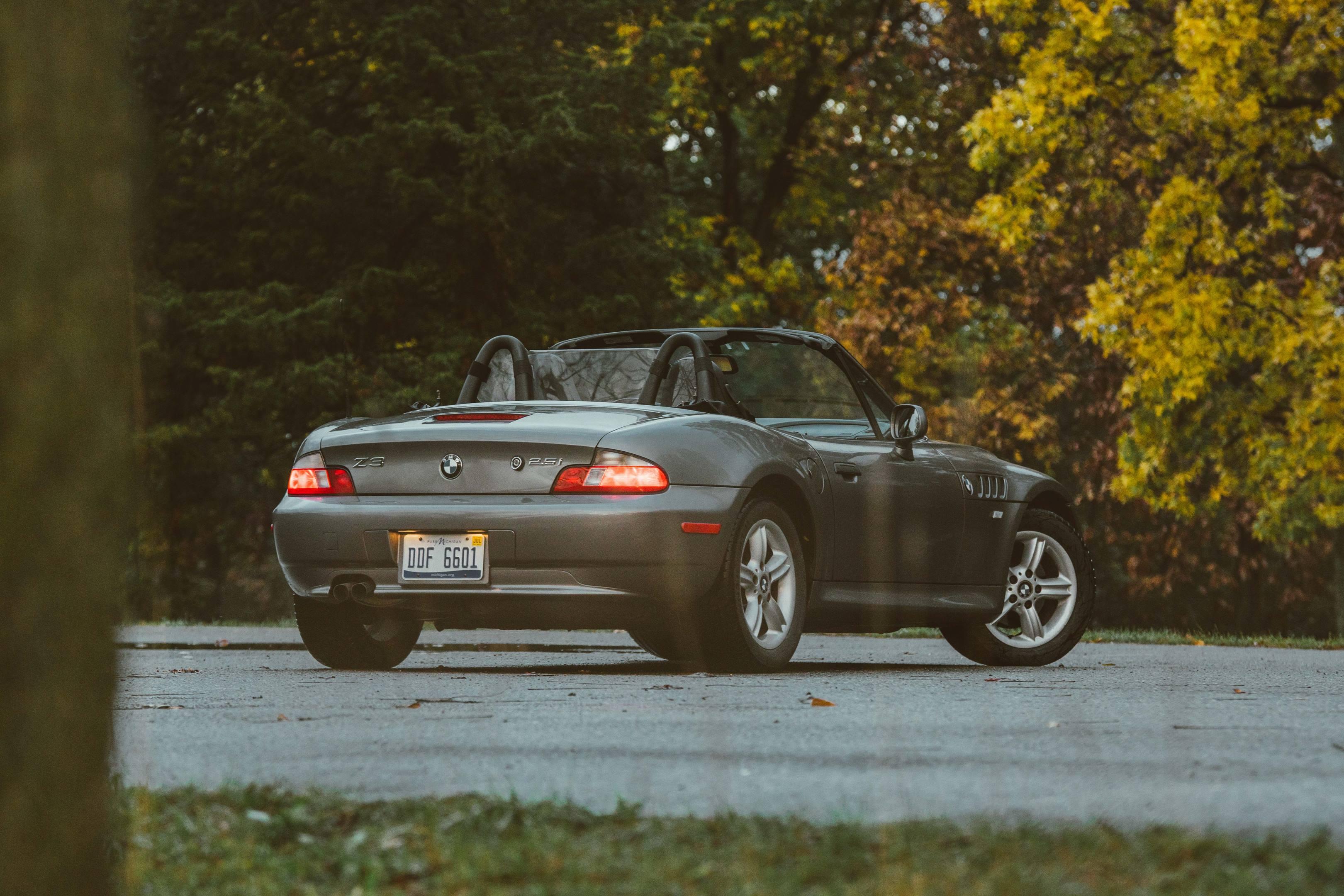 2001 BMW Z3 rear 3/4