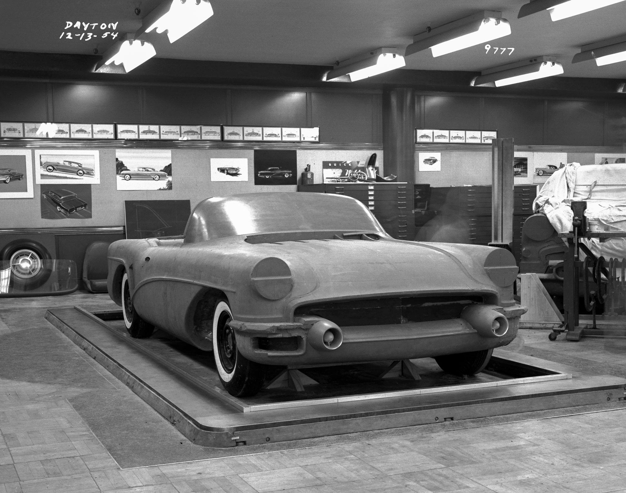 1955 Buick Wildcat III Concept Buck