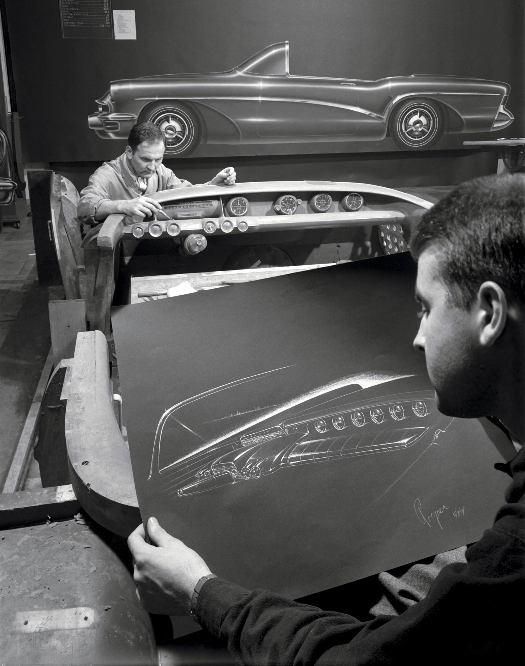 designing the 1954 Buick Wildcat III