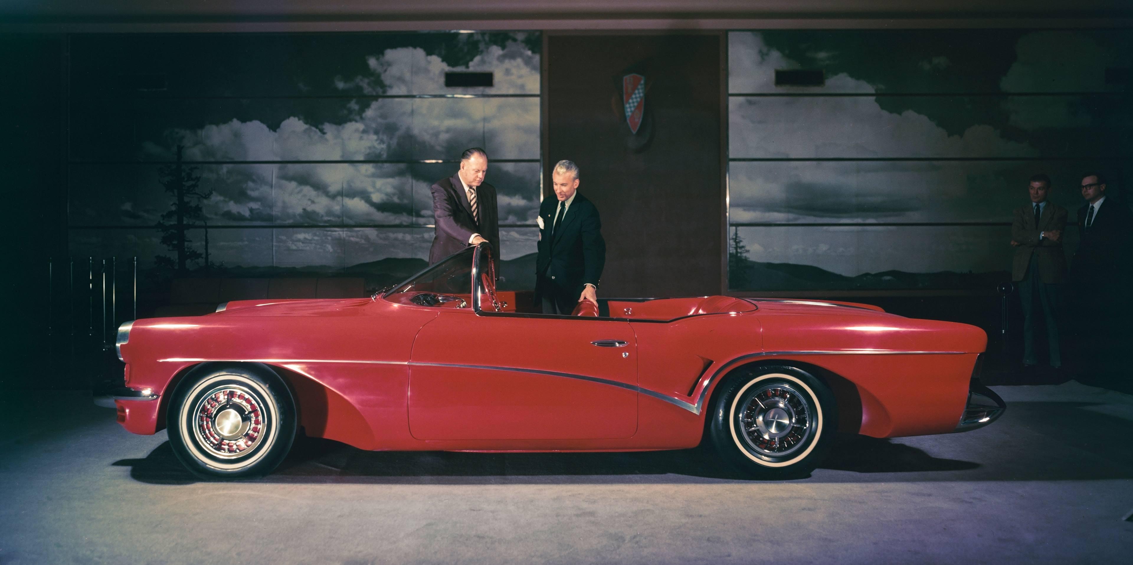 Buick Wildcat III concept with Harley Earl