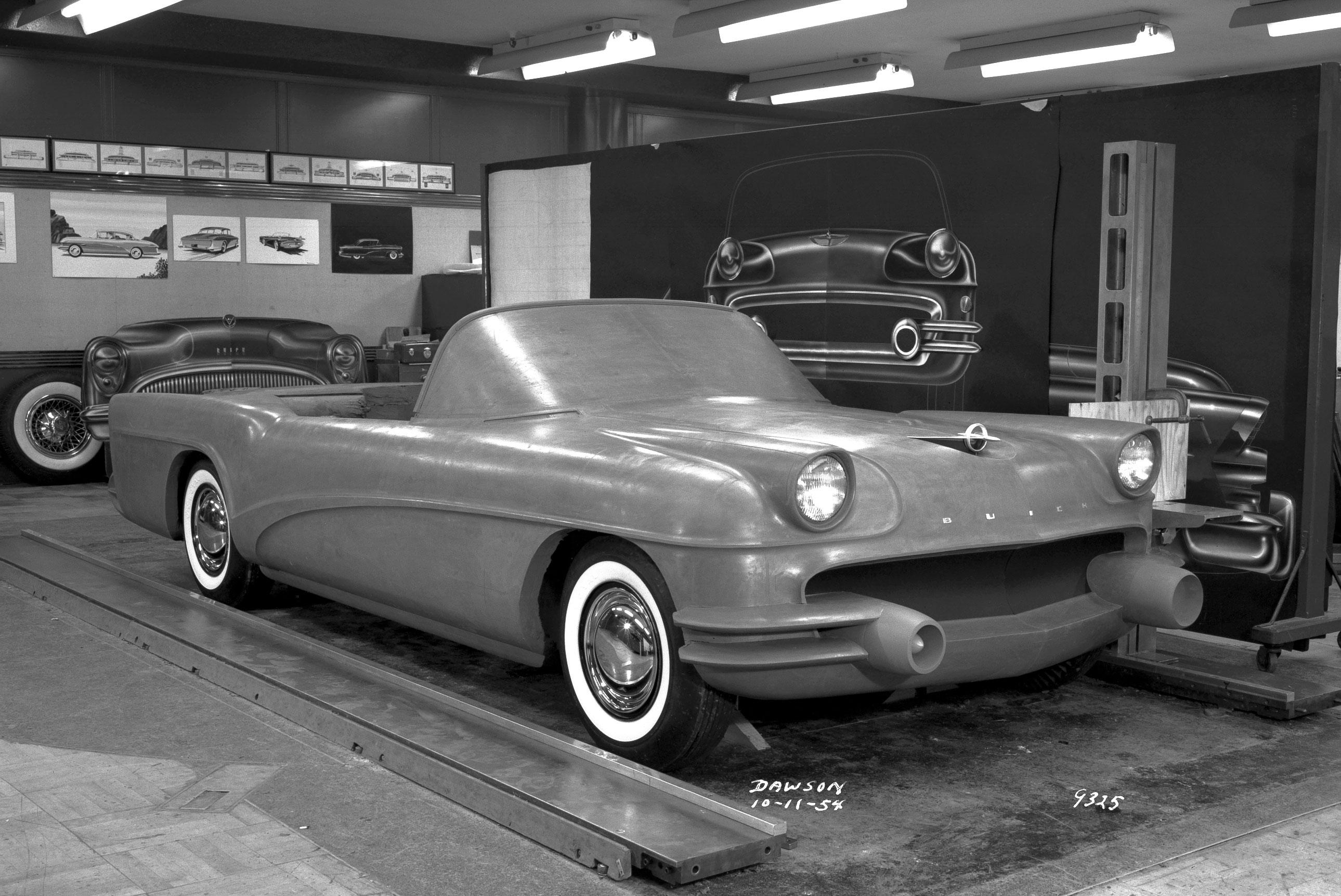 1955 Buick Wildcat III Concept design