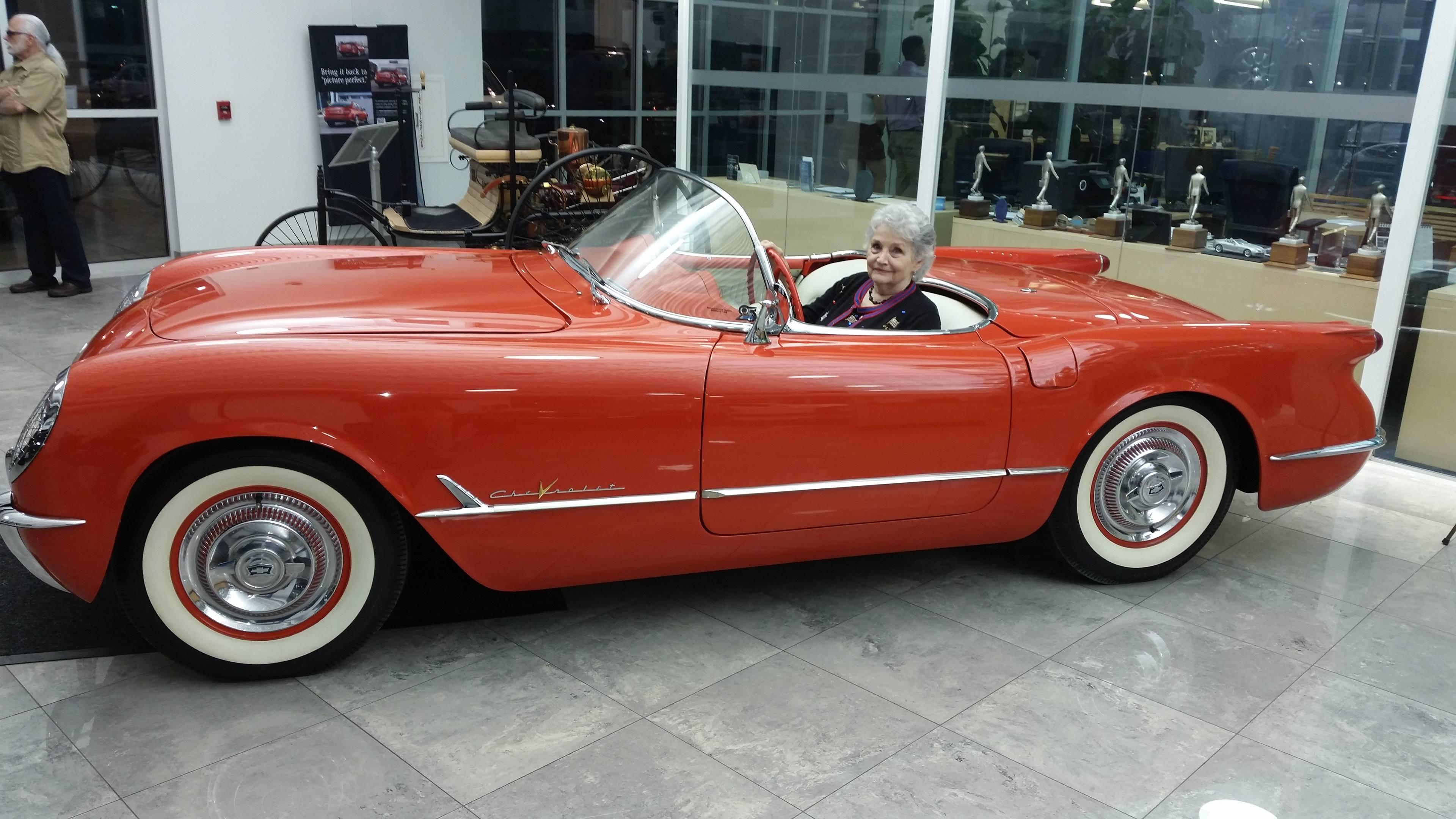 Carolyn Sikes' 1955 Corvette