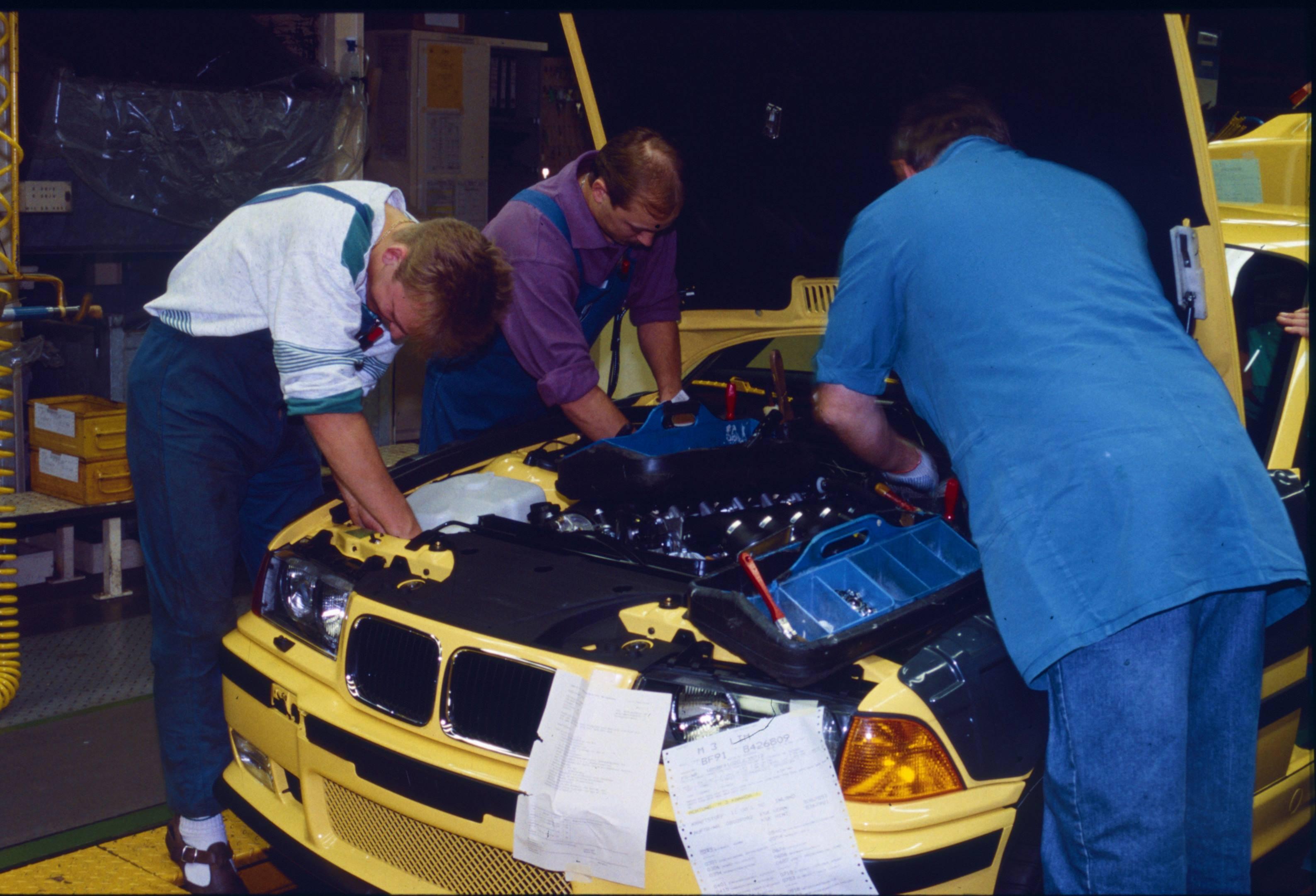 BMW M3 production