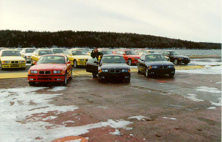 Canadian E36 M3 at Port with Plucinsky