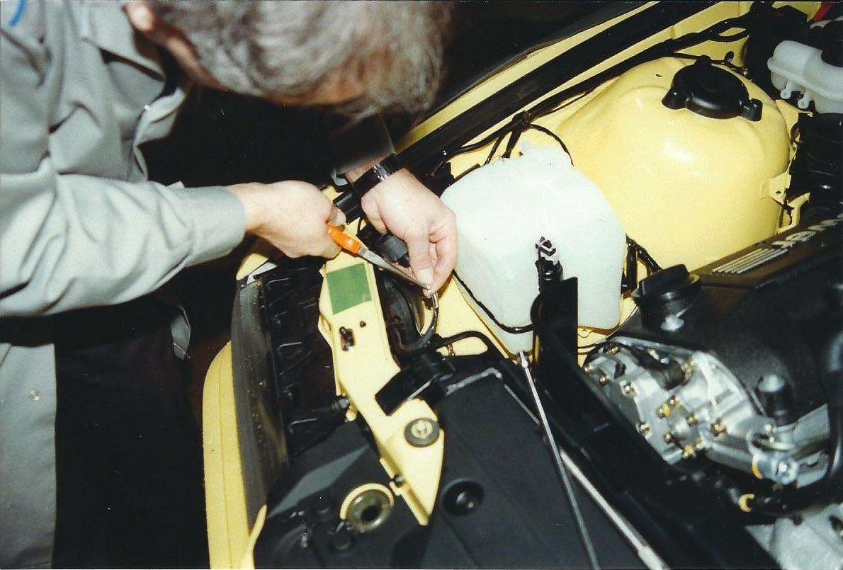 Canadian E36 M3 Homologation work at port