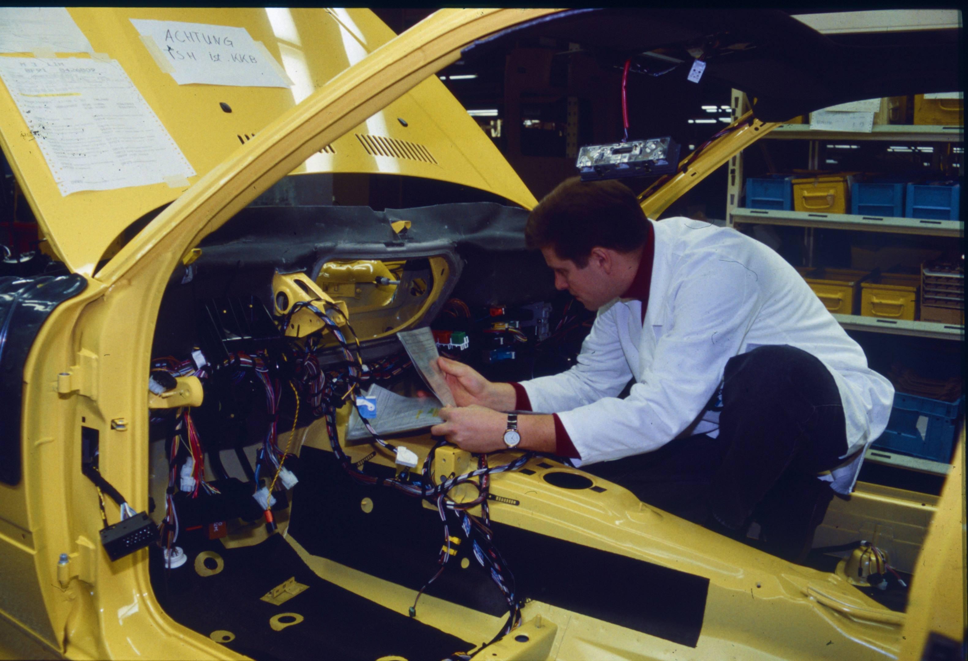 E36 M3 Production
