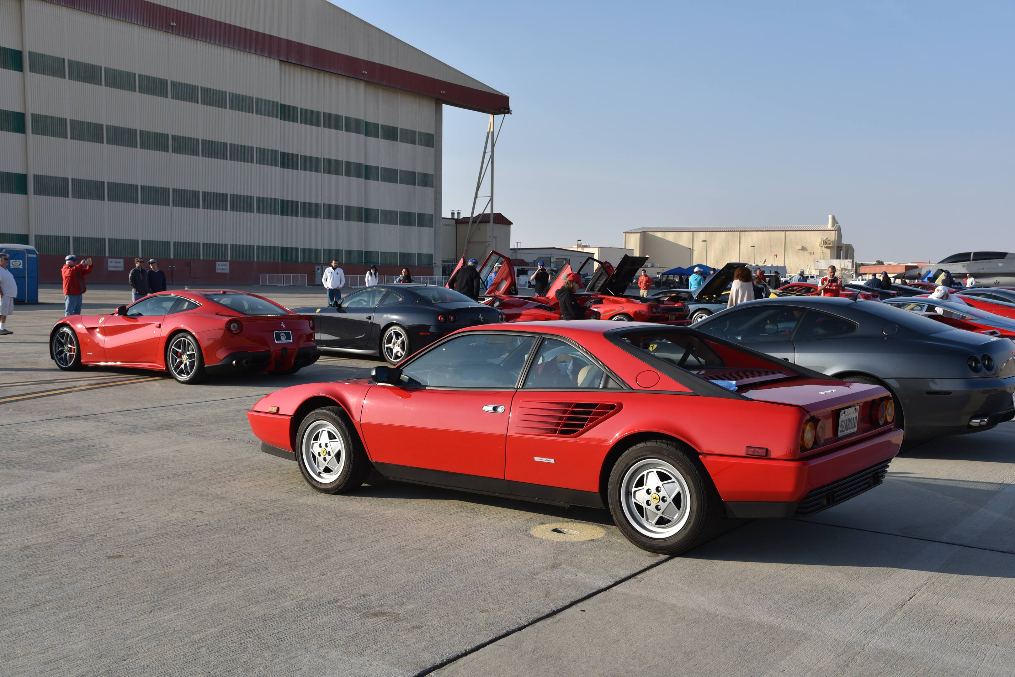 ferraris red edwards air force base 70th