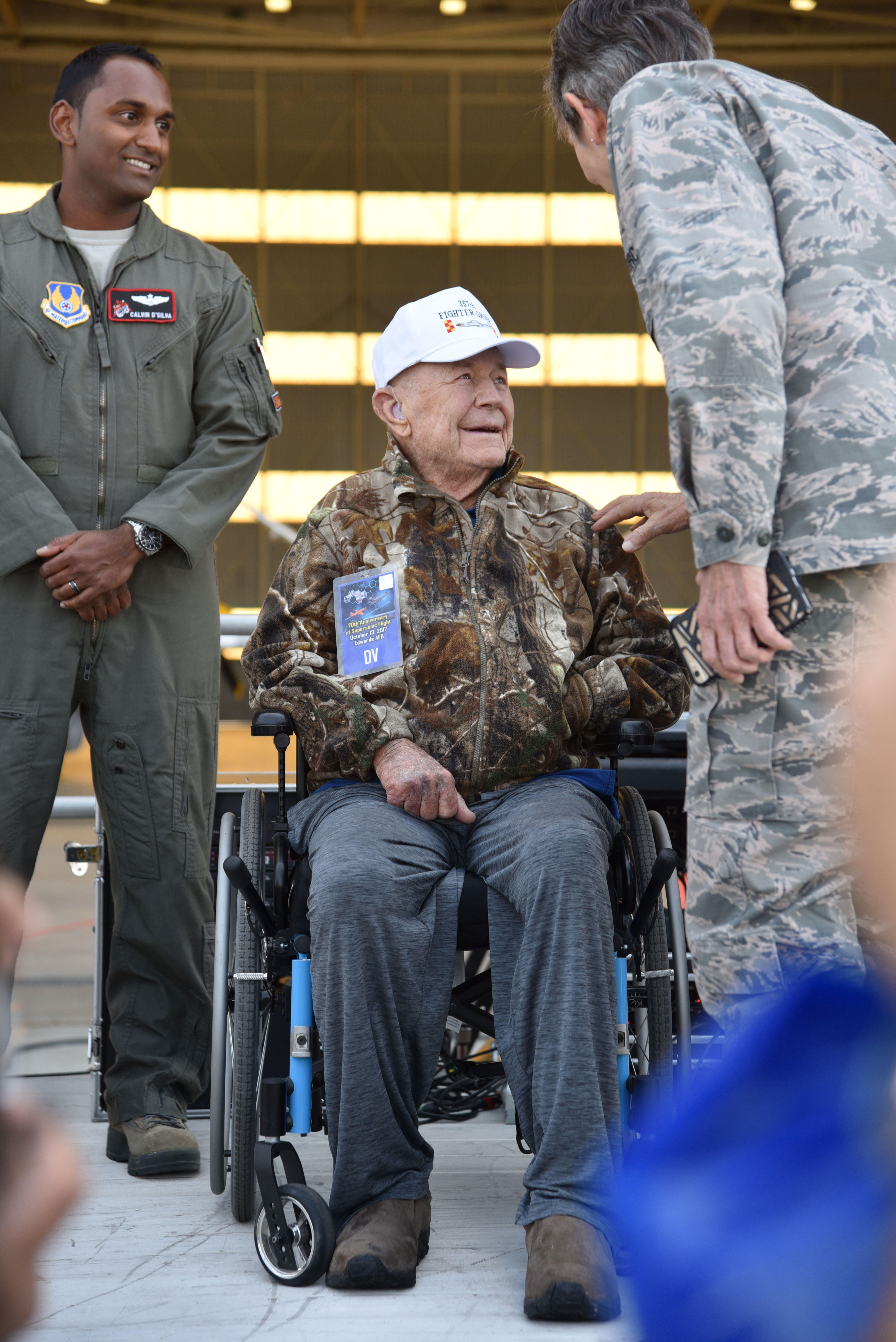 chuck yeager 2017 edwards air force base