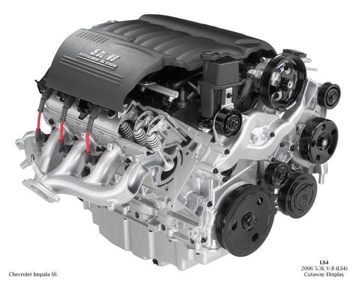LS4 engine cutaway