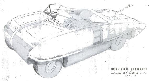 Amphibious Runabout - Popular Science 1946