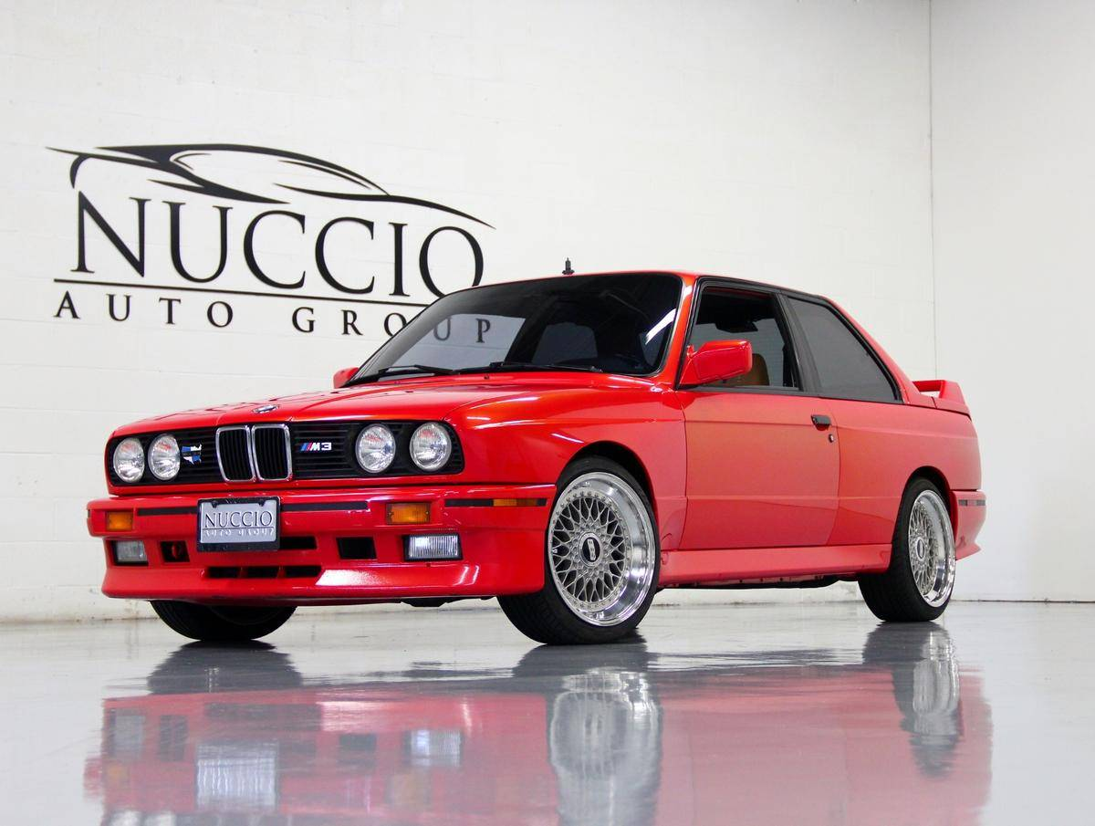 1998 BMW M3 red