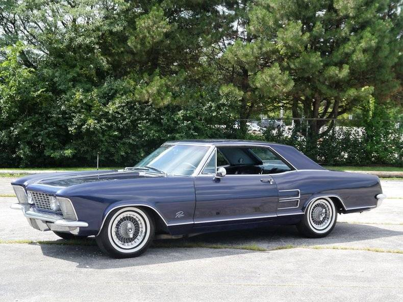 1963 Buick Riviera front three quarter
