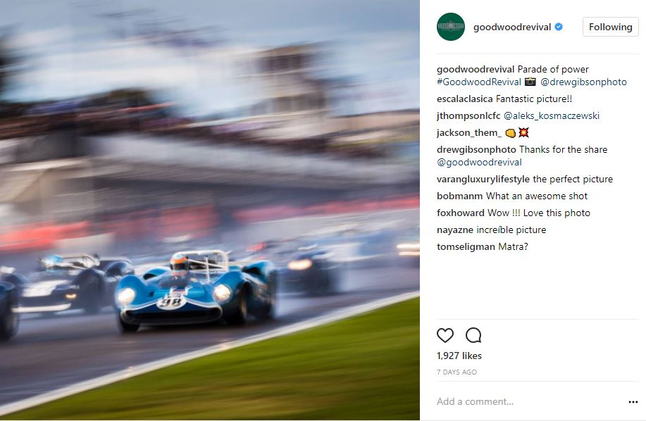 goodwood revival race rain