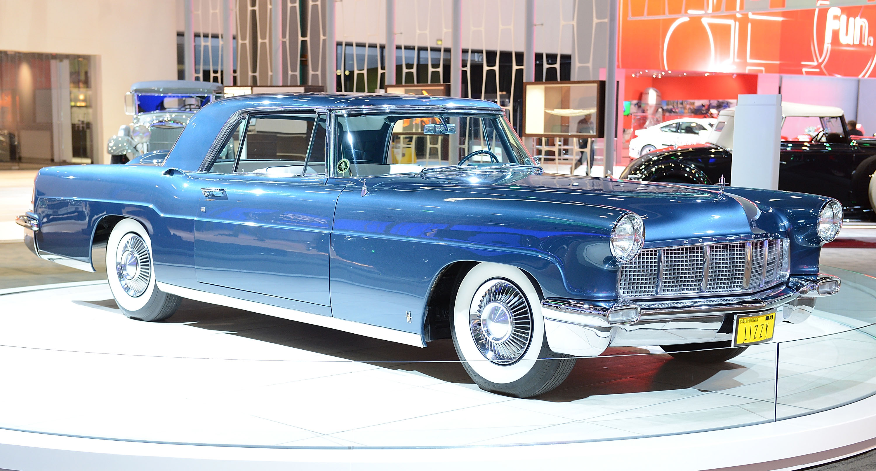 1956 lincoln continental mark ii elizabeth taylor angle