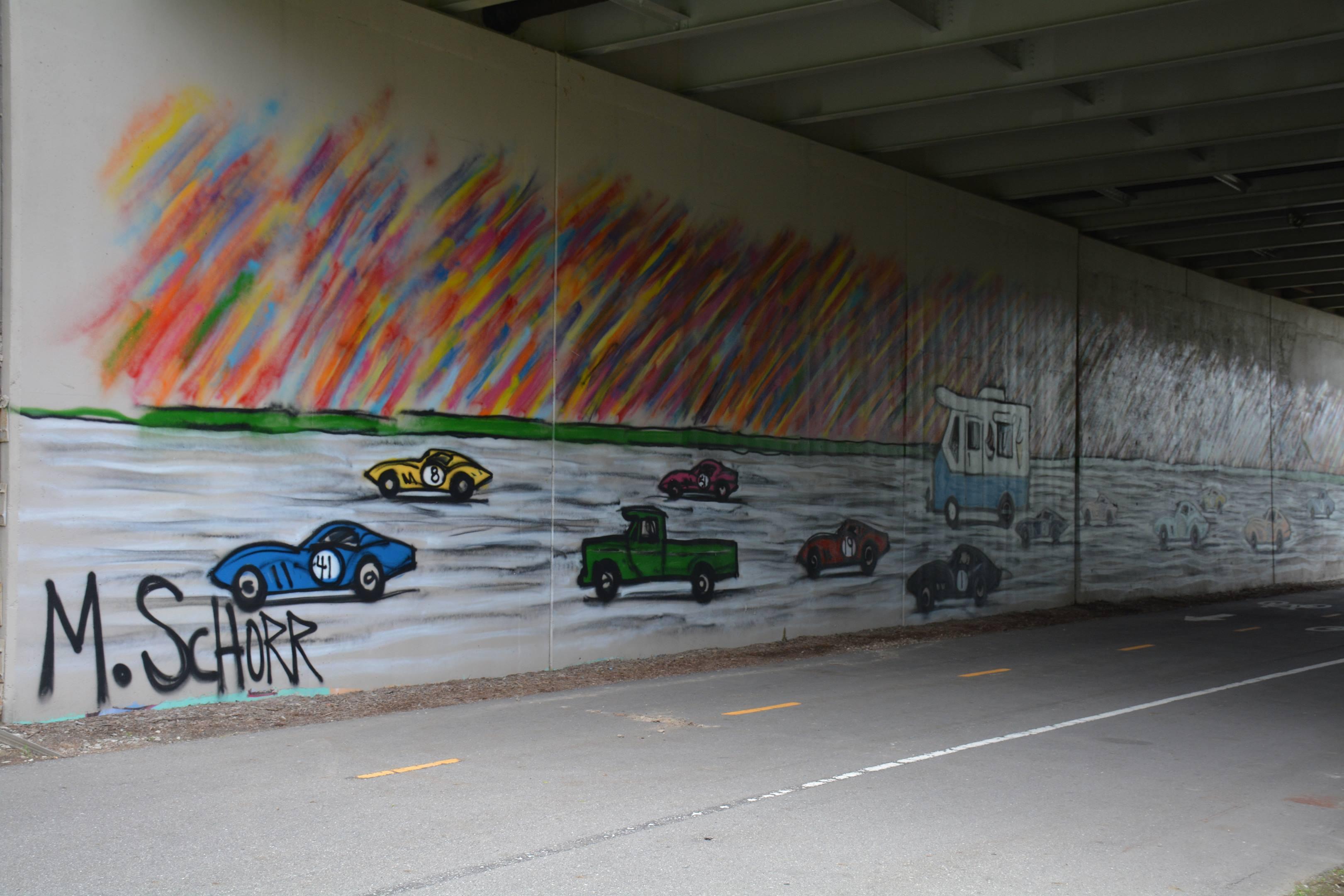 Race cars, ice cream trucks, and street art thumbnail