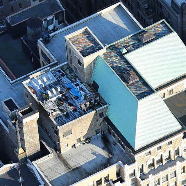 Mitchell Schorr Da Race rooftop new york
