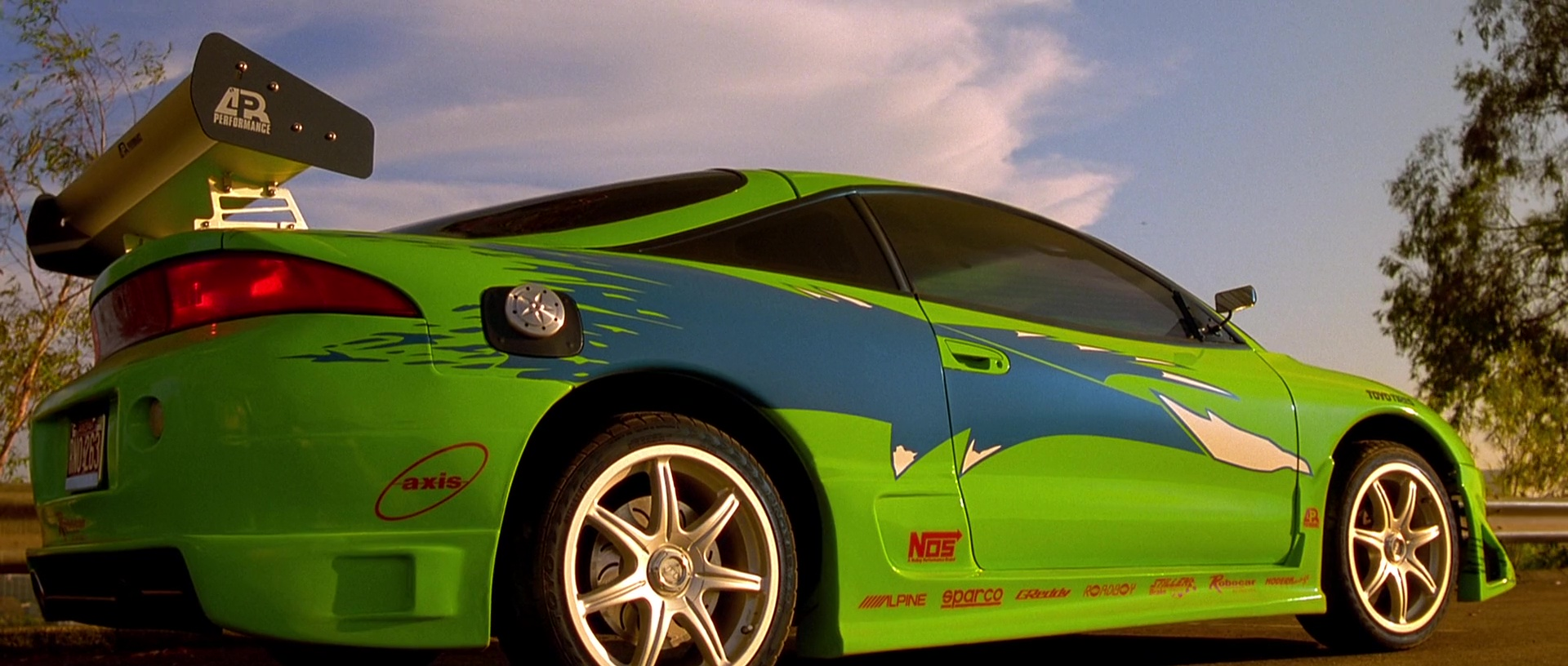 1995 Mitsubishi Eclipse from The Fast and the Furious
