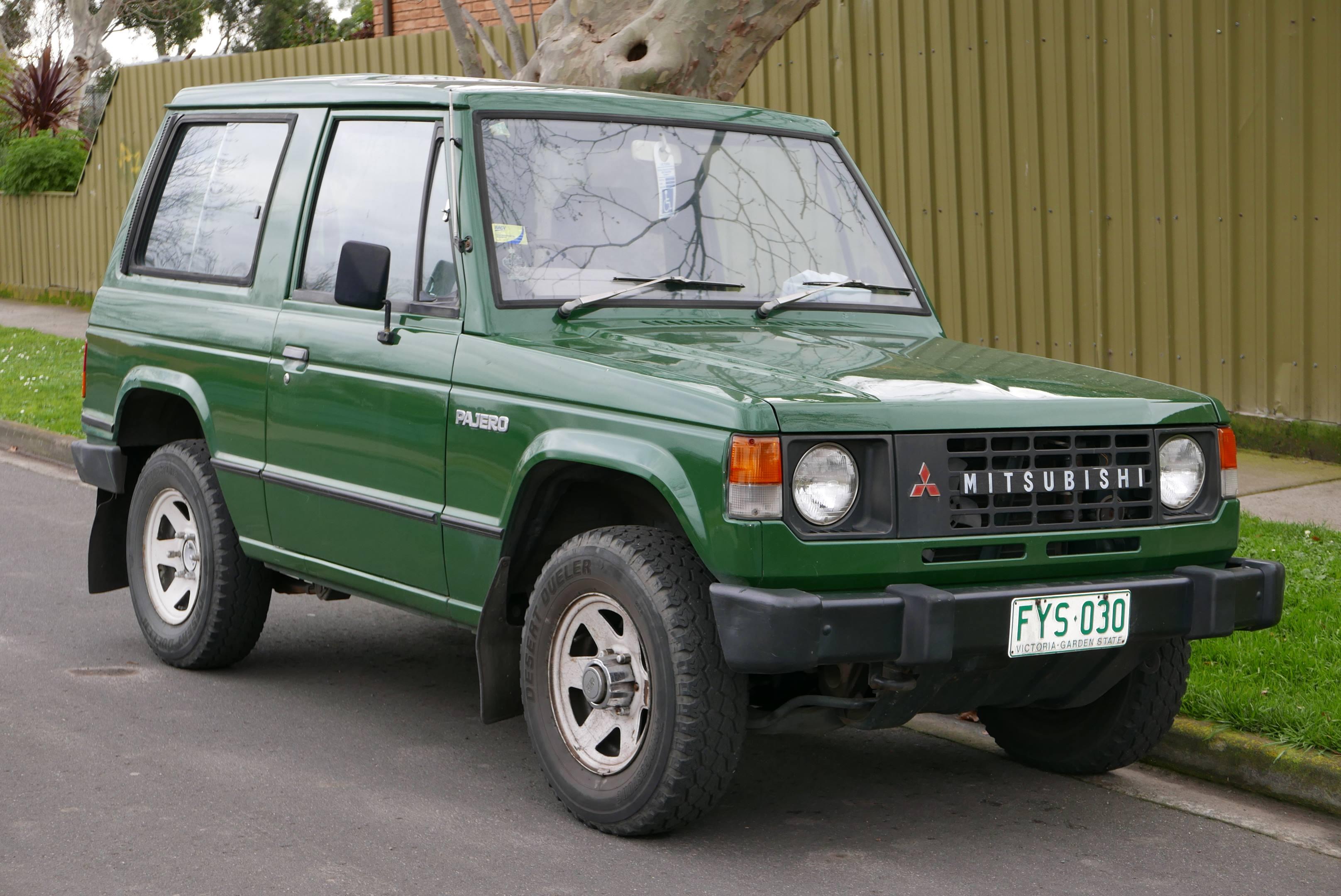 1984 Mitsubishi Pajero