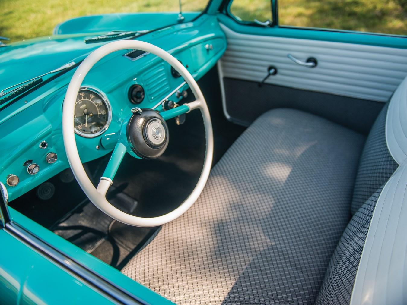 1961 AMC Metropolitan 1500 Convertible interior