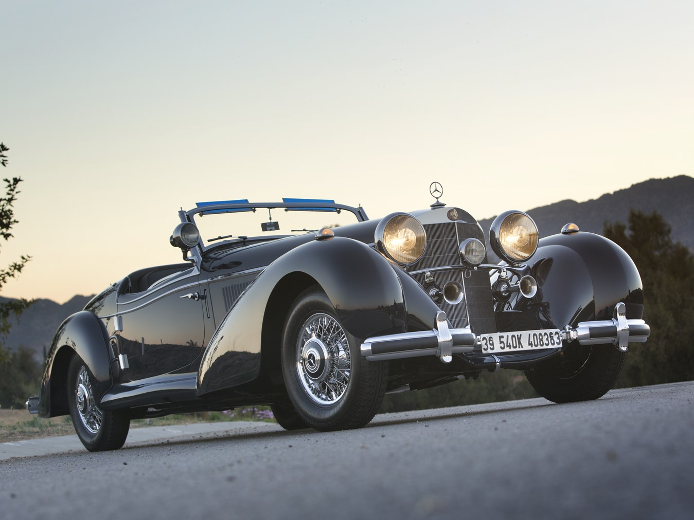 1939 Mercedes-Benz 540K Special Roadster