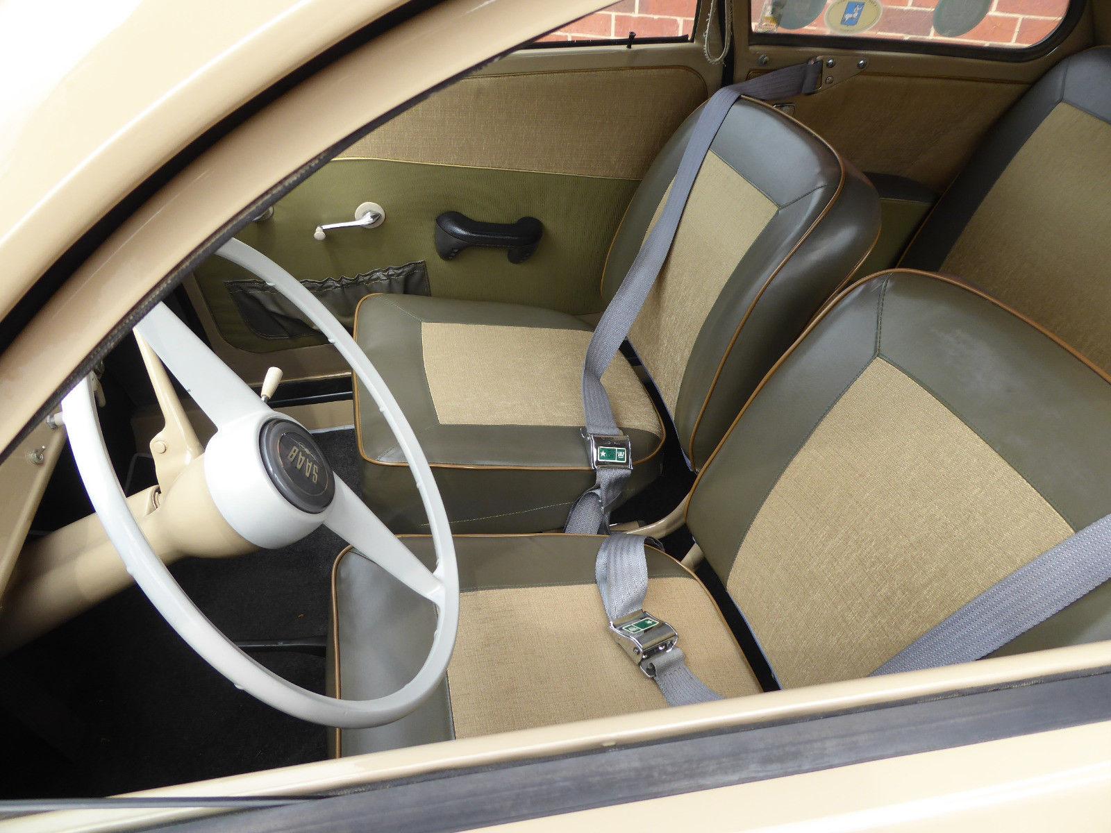 1959 Saab 93F interior