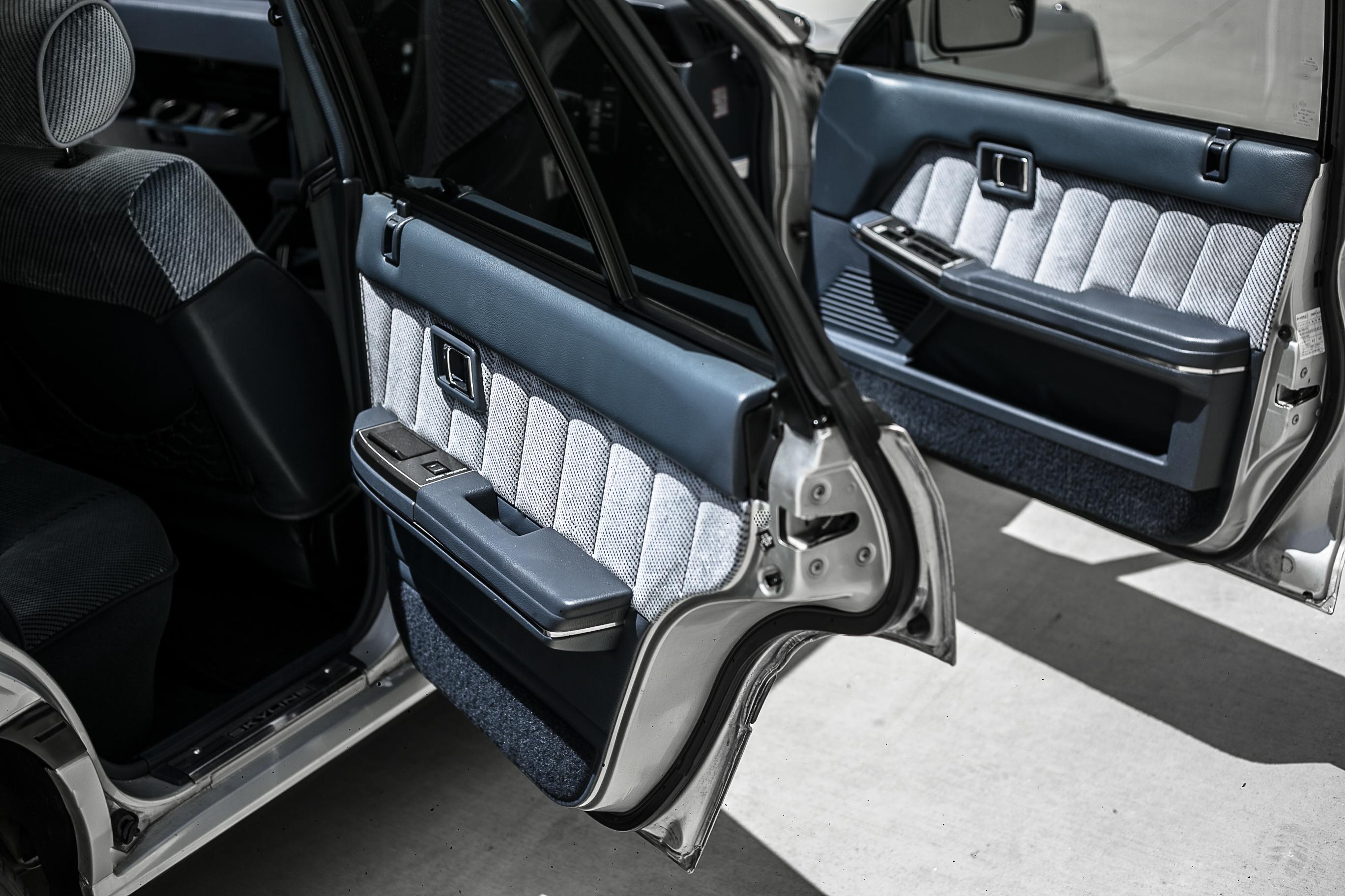 Nissan R31 Skyline turbo wagon door detail