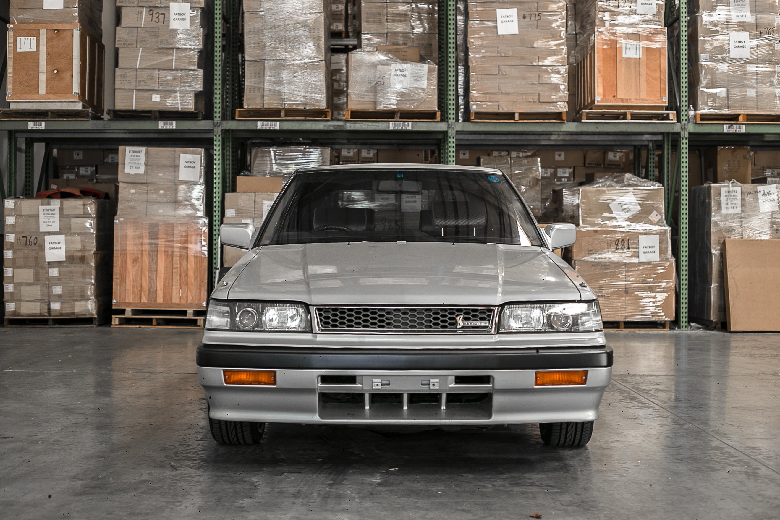 Nissan R31 Skyline turbo wagon front