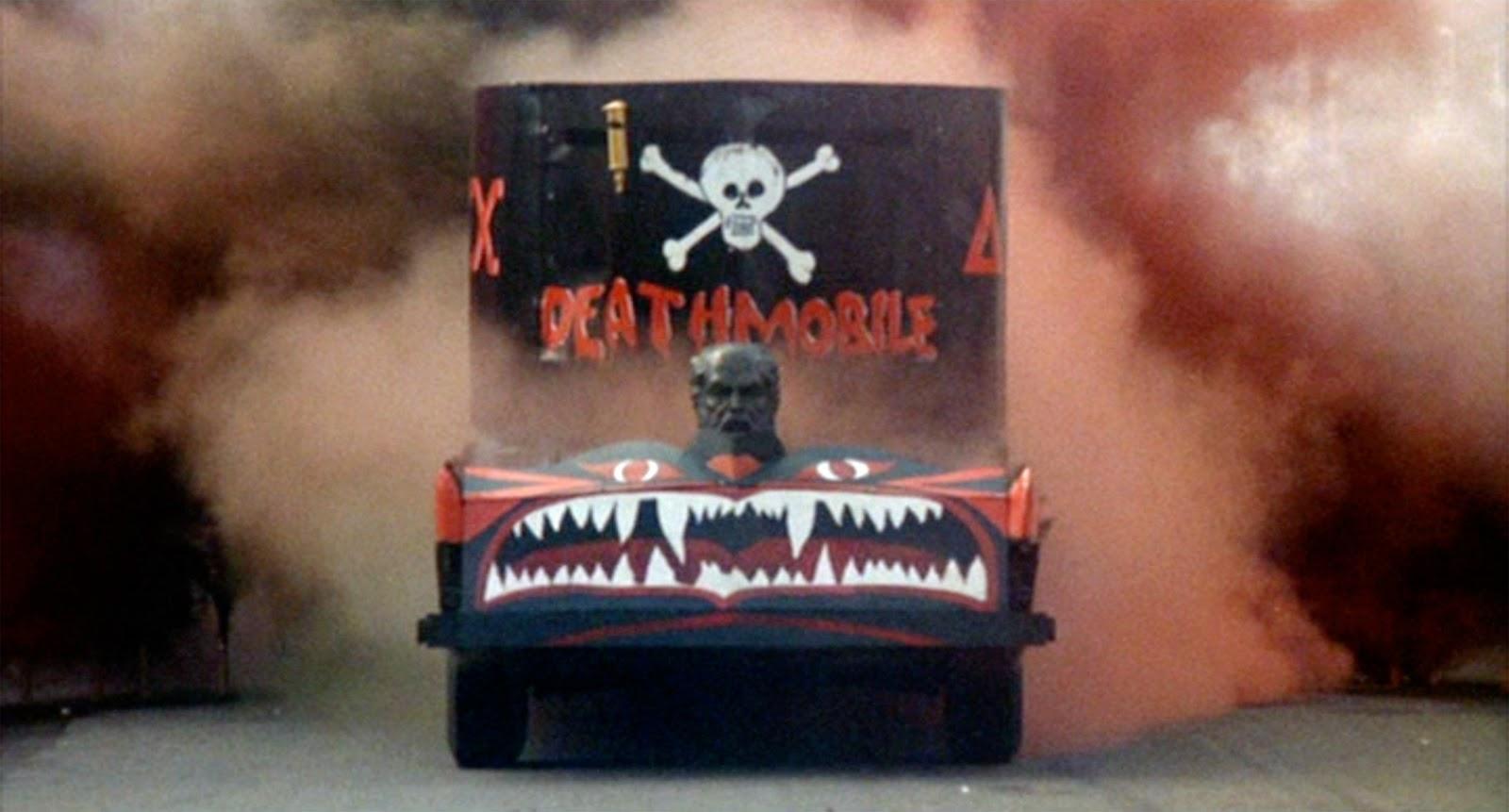 The deathmobile from Animal House