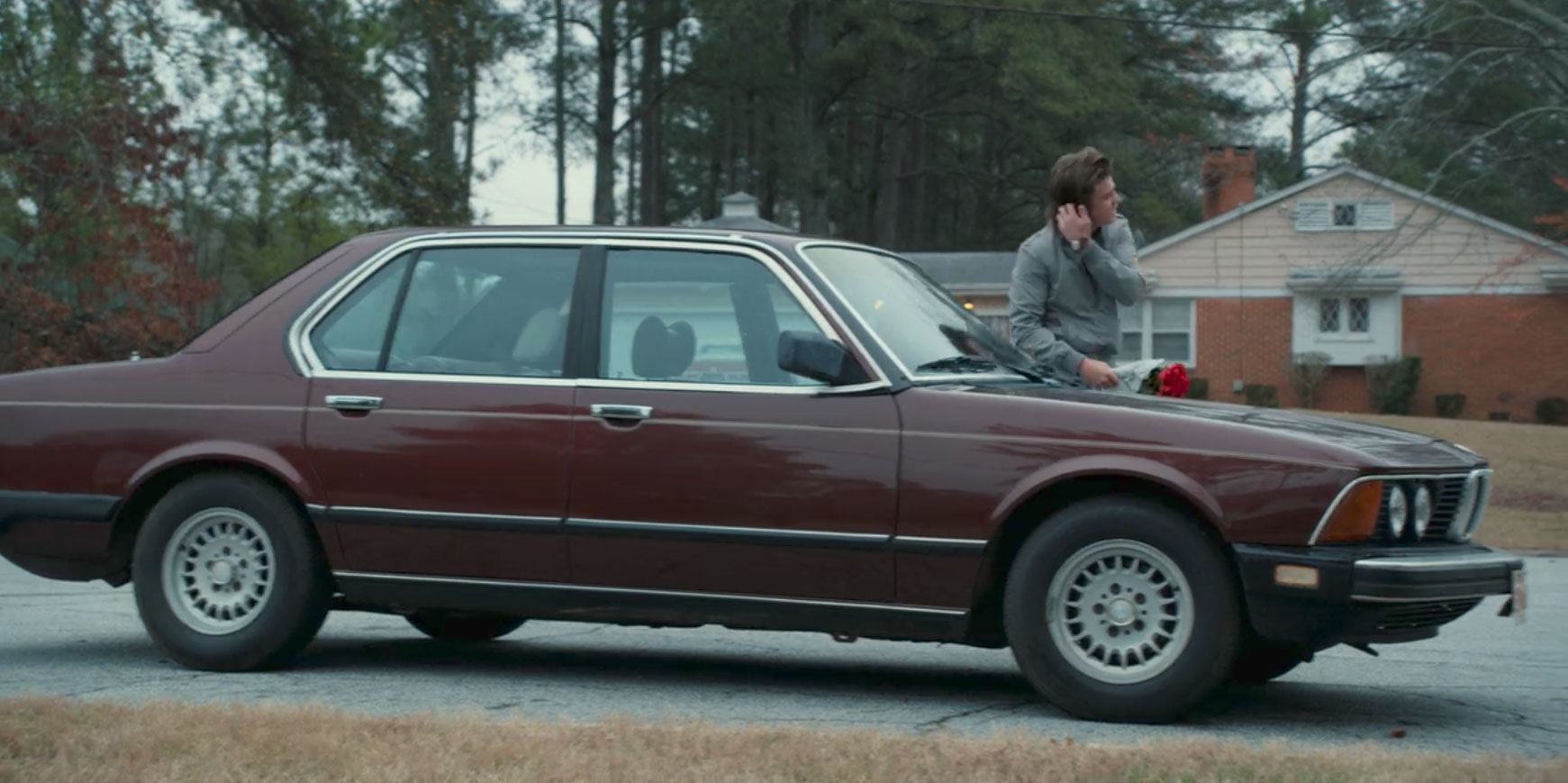 1980 BMW 733i in Stranger THings