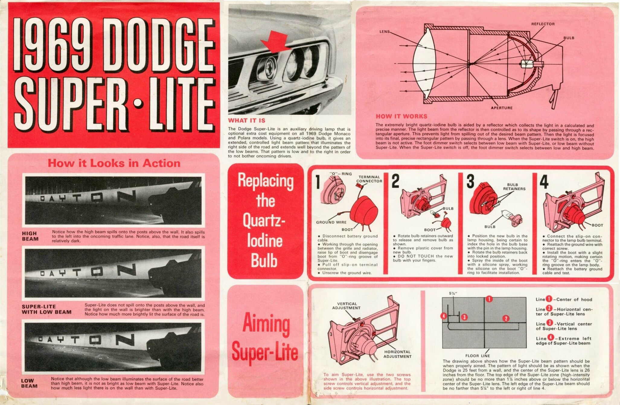 1969 Dodge Super-Lite advertisement
