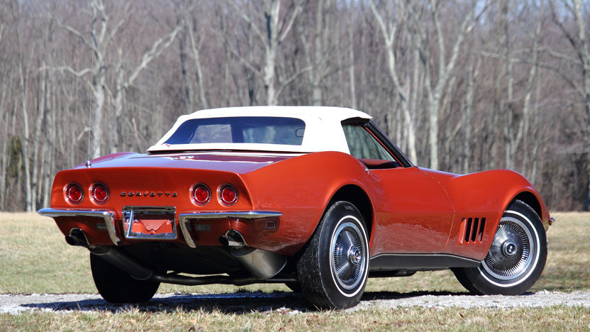 1968 Chevrolet Corvette L79 Convertible rear 3/4