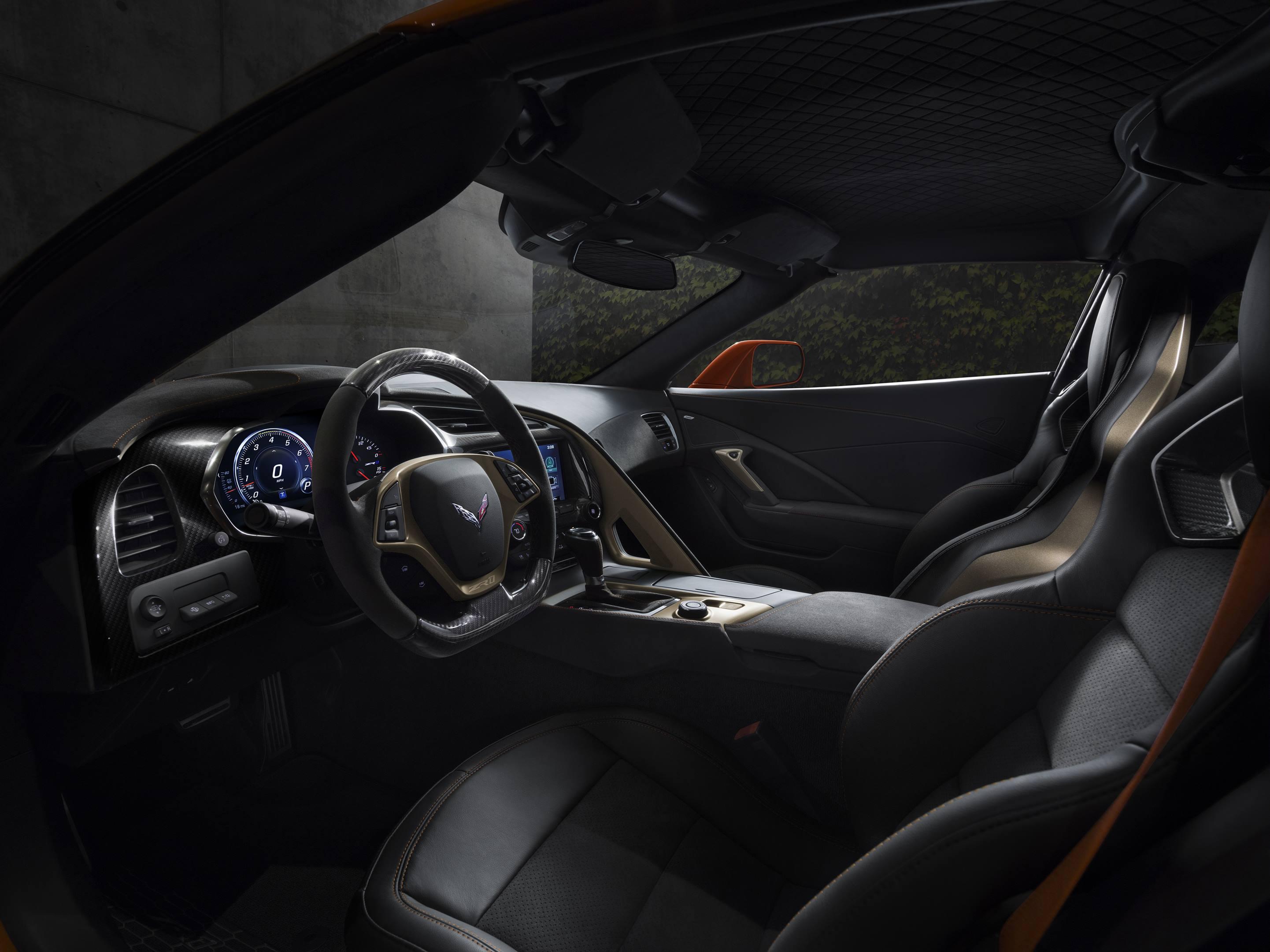2019 Chevrolet Corvette ZR1  Interior detail shot