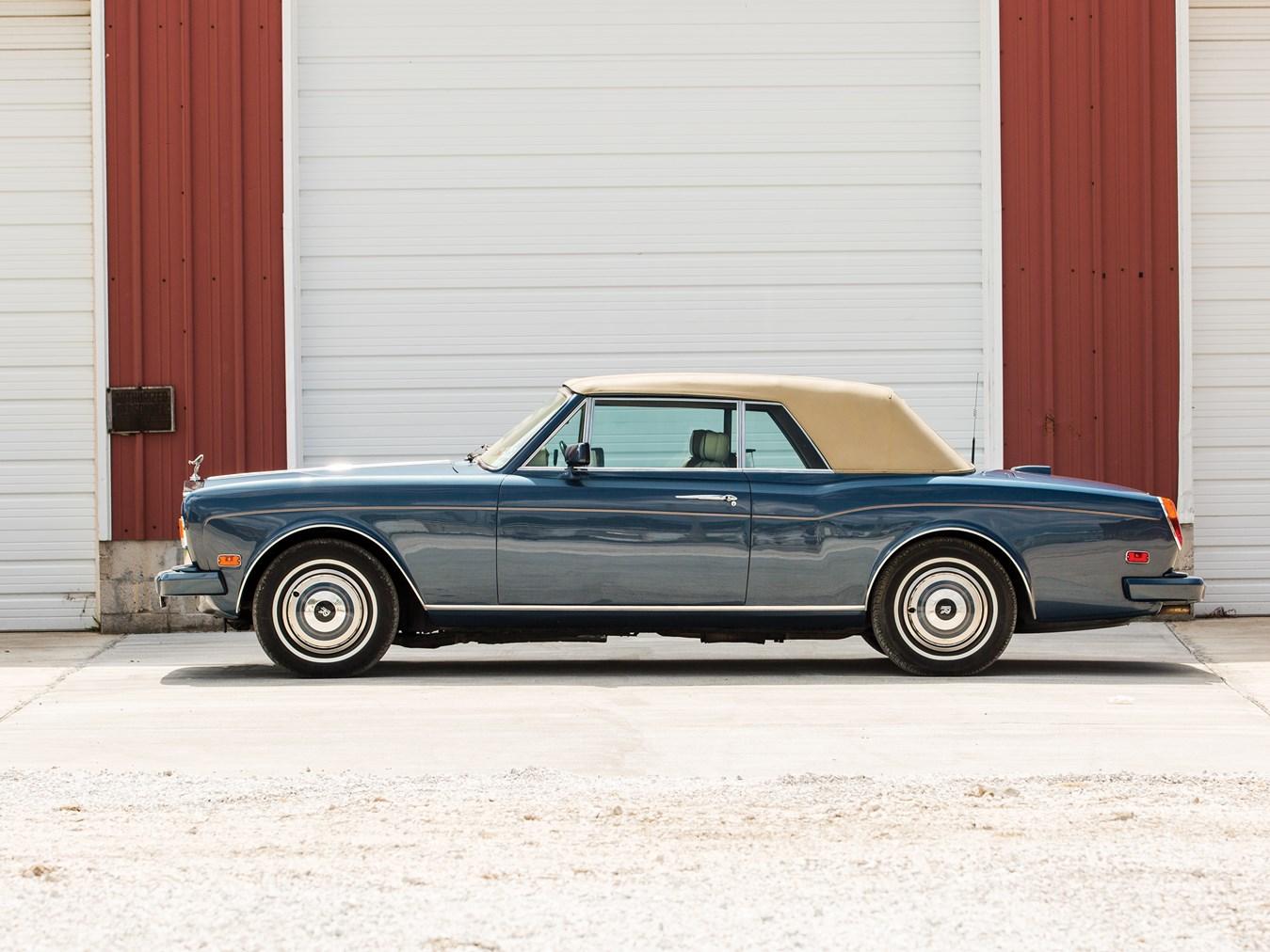 1985 Rolls-Royce Corniche Drophead Coupe profile