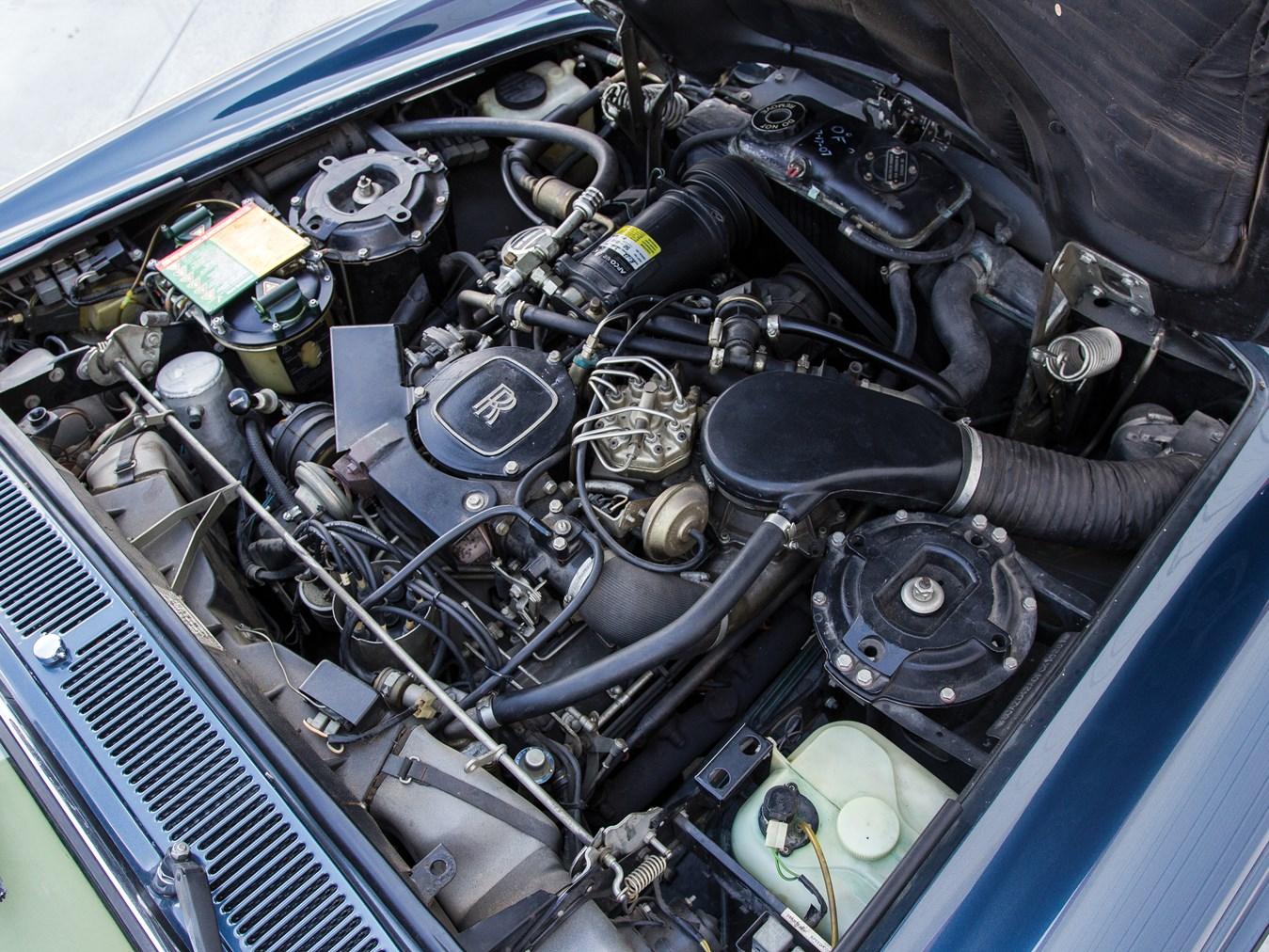 1985 Rolls-Royce Corniche Drophead Coupe engine