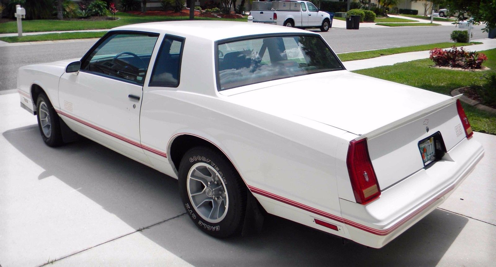 1987 Chevrolet Monte Carlo SS Rear 3/4 View