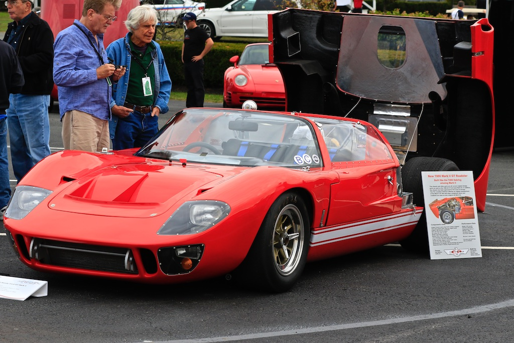 Ford GT MkII monticello art in motion
