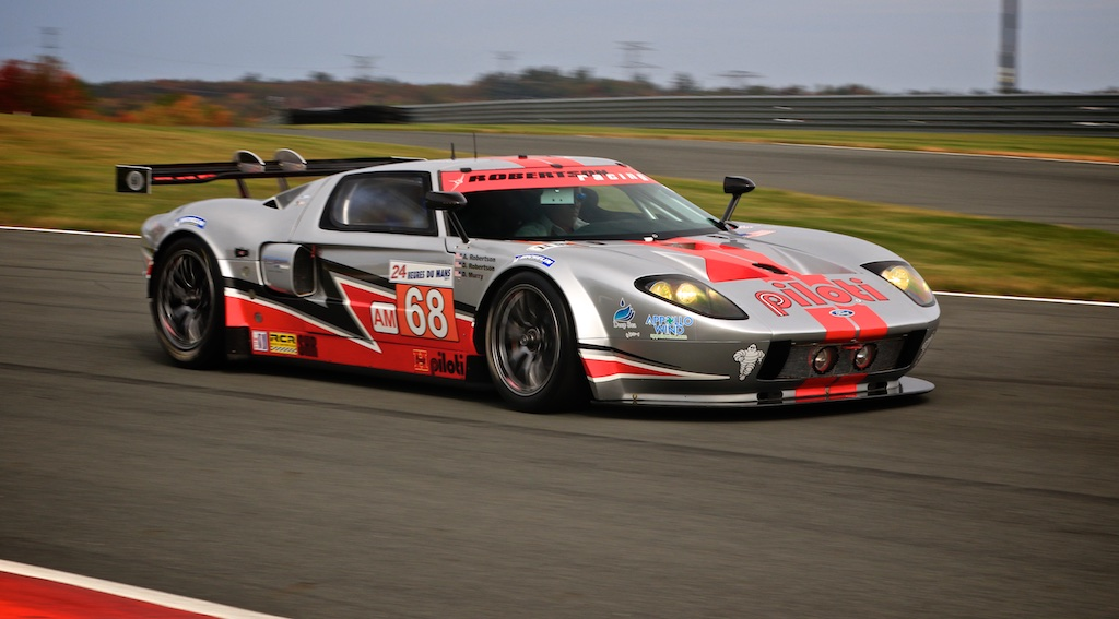 robertson racing ford gt 2011 le mans monticello