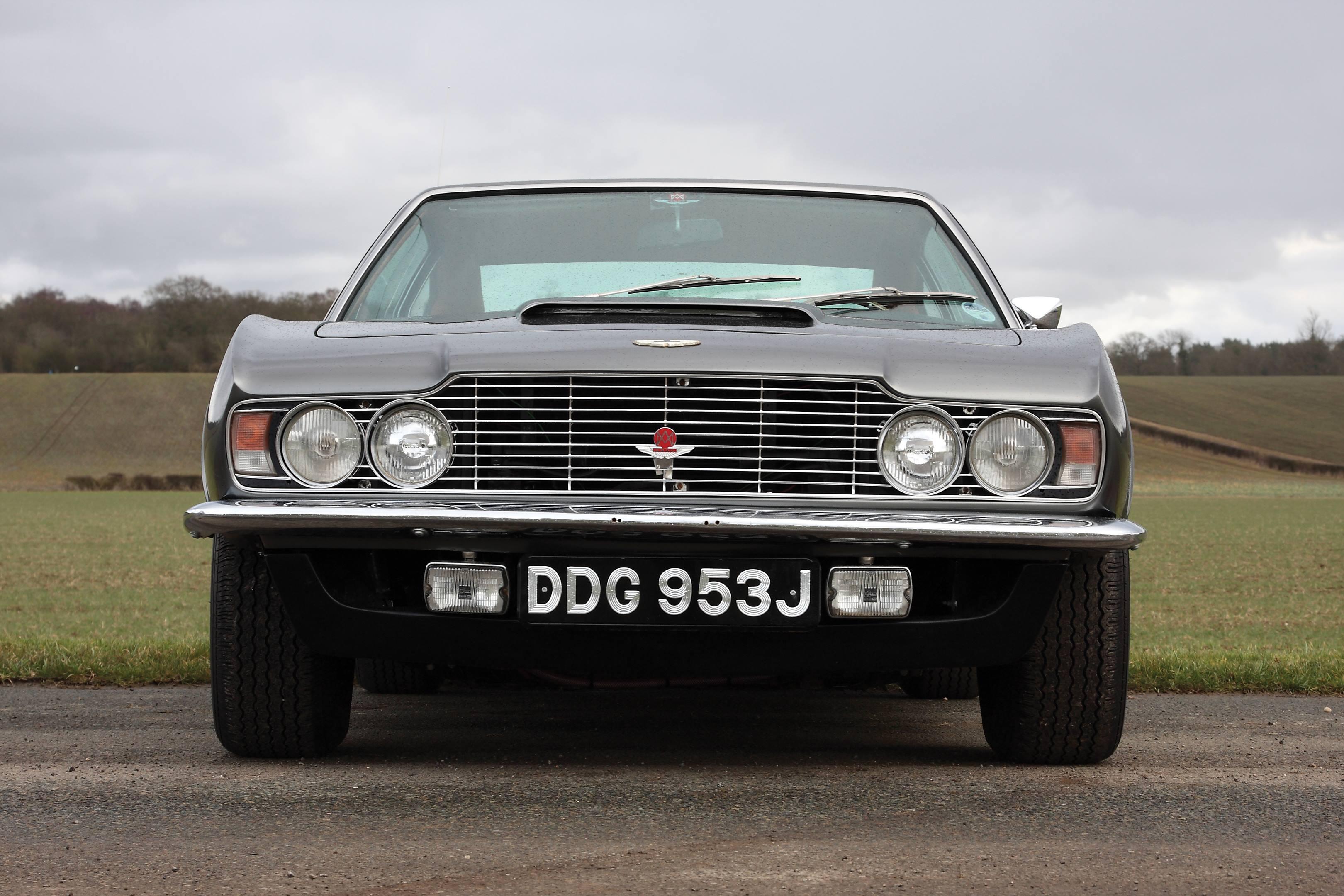 Aston martin dbs sothebys rm front silver
