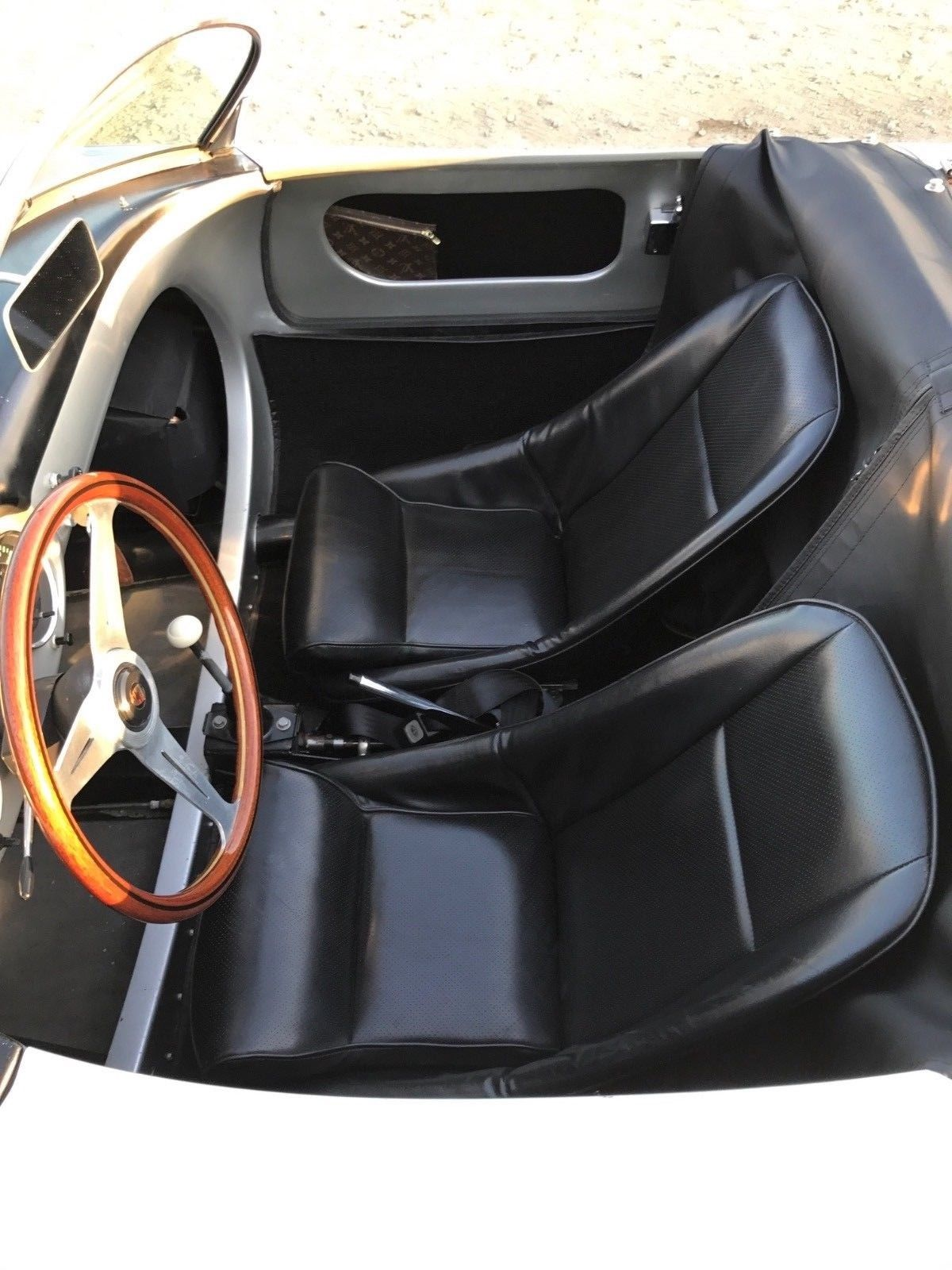Beck Porsche 550 interior view