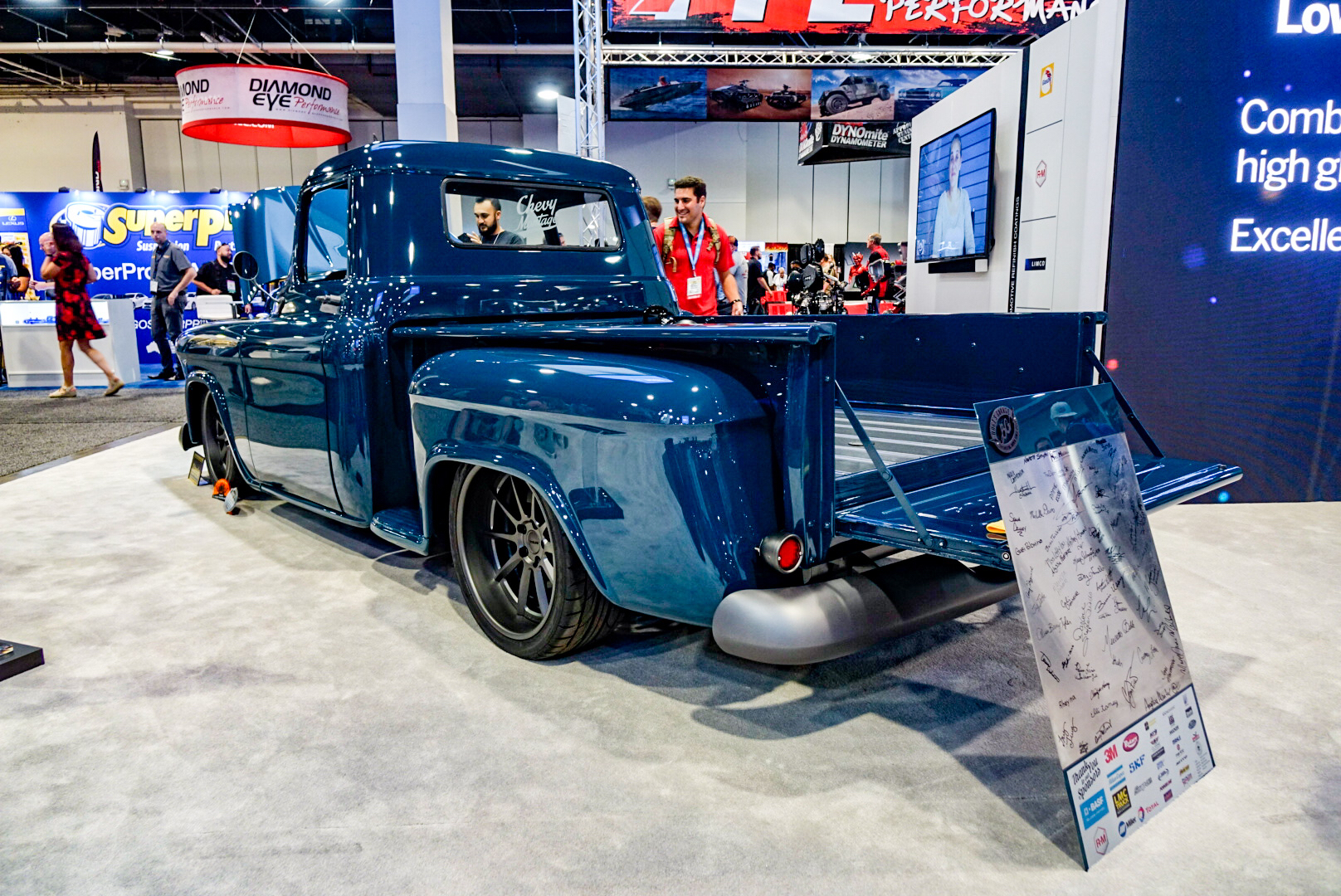 custom 1957 Chevy pickup