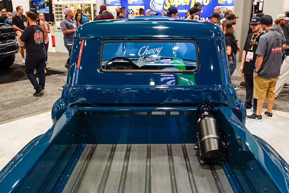 custom 1957 Chevy pickup bed