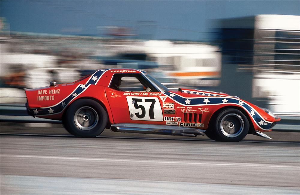 1969 Chevrolet Corvette L88 Convertible Rebel in motion