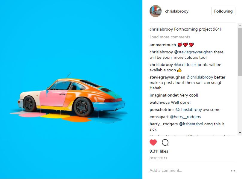 Instagram photo gallery: Our favorite automotive images thumbnail