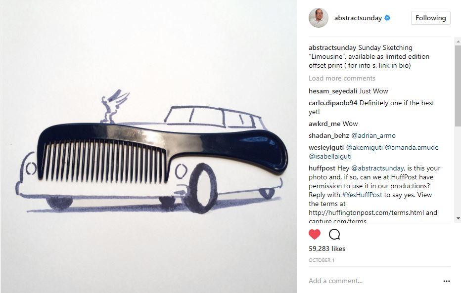 @abstractsunday comb car