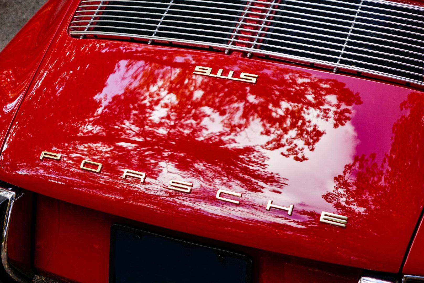 1967 Porsche 911S rear detail