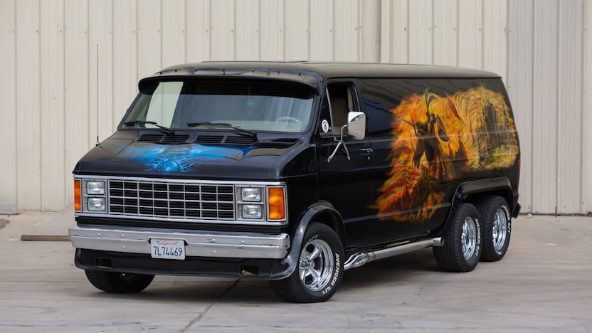 1980 Dodge Custom Van
