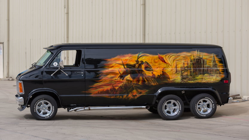 1980 Dodge Custom Van profile